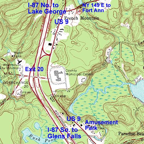 Exit 20 Map