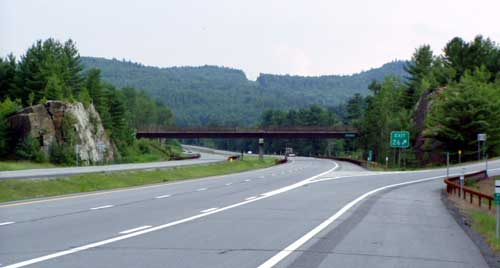Exit 26 - Pottersville, Schroon River North half