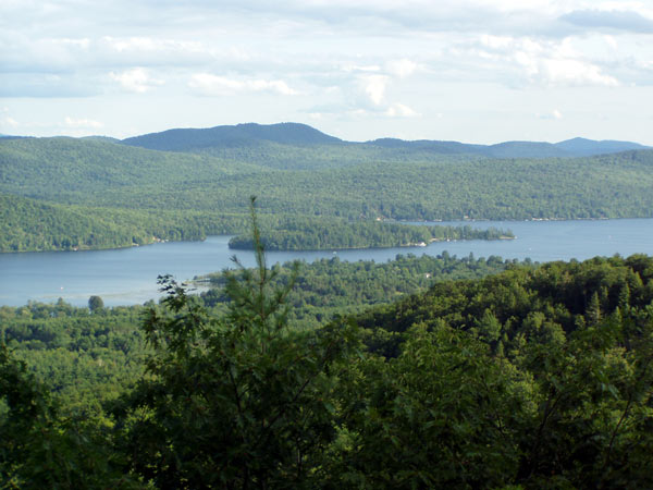 Schroon Lake from Mount Severance
