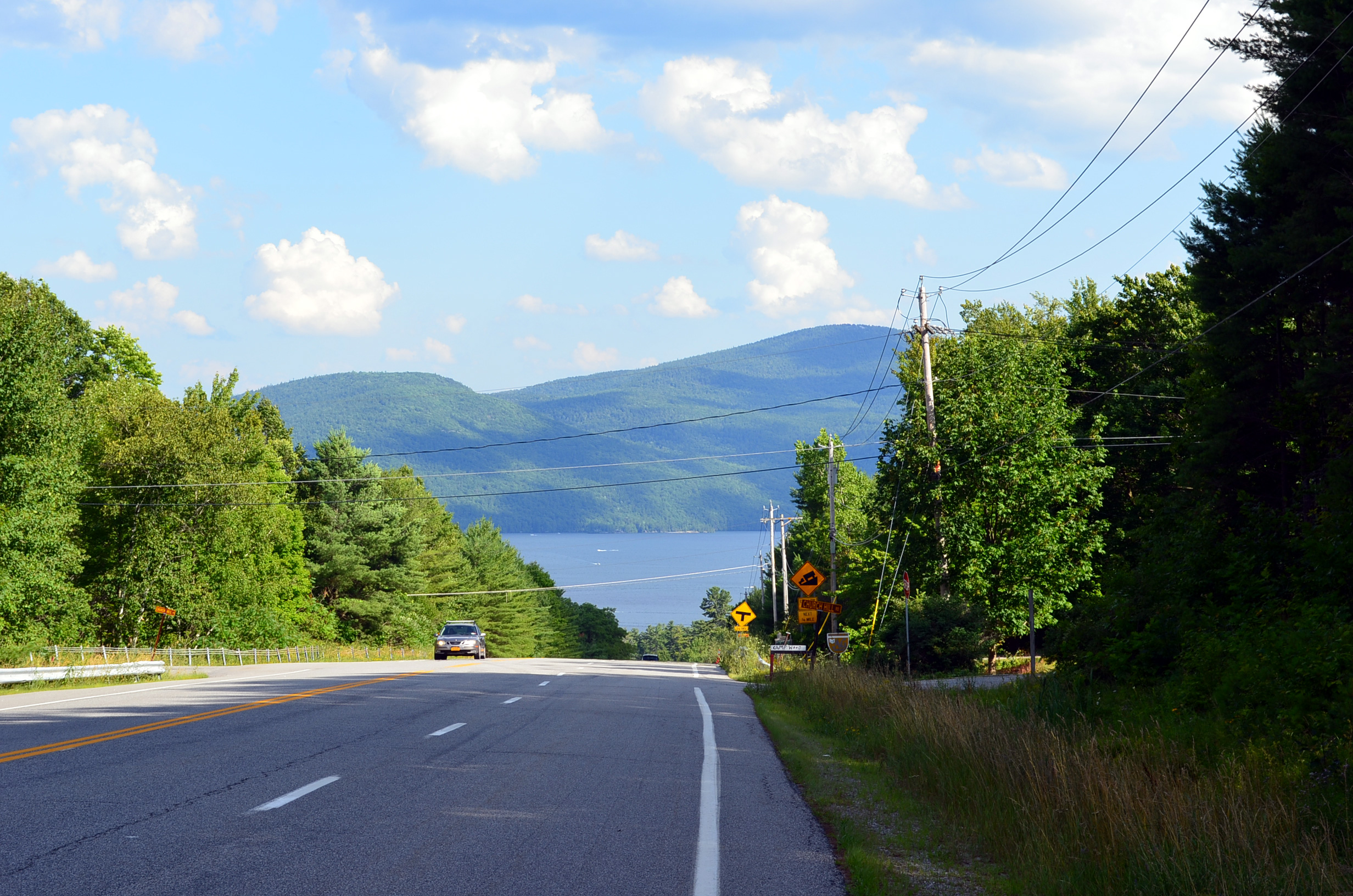 Interstate 87 The Adirondack Northway Albany to Canada via