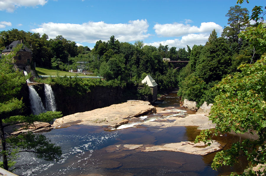 Upper Gorge of Ausable River in the Chasm,
