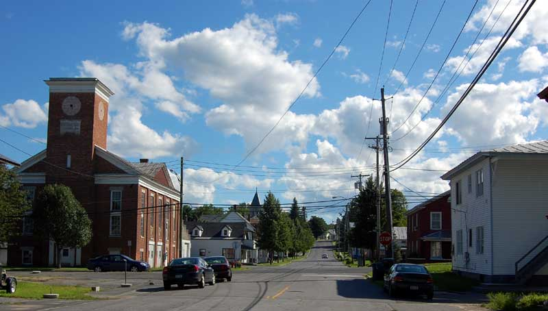 Champlain, Church Street