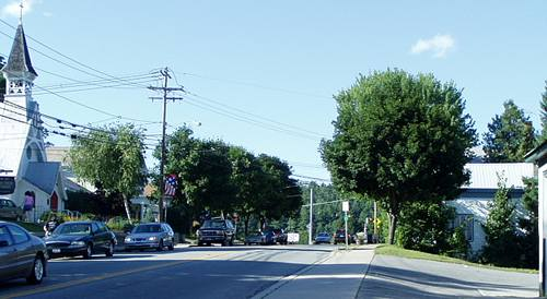 US 9 in the Village of Chestertown
