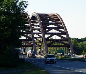 Dolly Parton, Thadeus Kosciuko Bridge over the Mohawk, the Albany - Saratoga County Line
