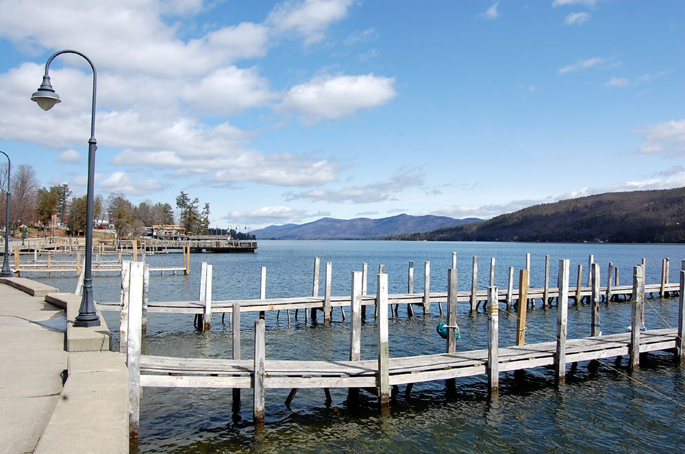 Lake George from the Village Marina