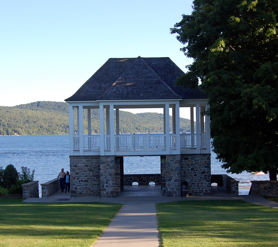 Town Park on Schroon Lake
