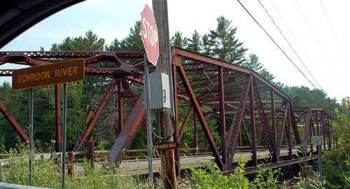 Bridge to Brant Lake over the Schroon